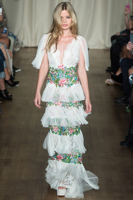 Marchesa S/S15 Photo: www.vogue.co.uk